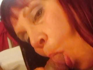 : Aunt Sue short hair brunette part 3