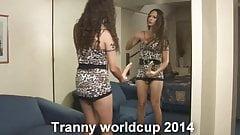 Tranny worldcup 2014 with Nikki Ladyboys