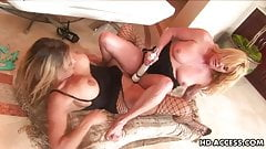 Hottest blonde lesbian fucking
