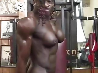 Naked pictures of body builders - Amazing female body builder