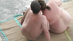 BBW beach fun