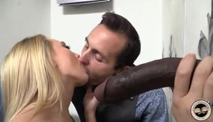 kiss a cum Cuckold takes