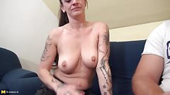 Taboo stepmoms fuck young dirty stepsons