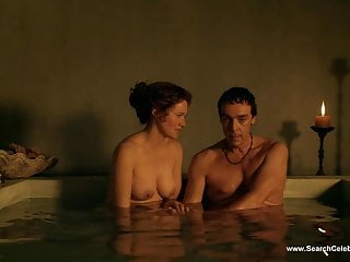 Lucy Lawless Nude Scenes - Spartacus - HD