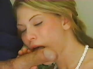 Pretty blonde suck and fuck