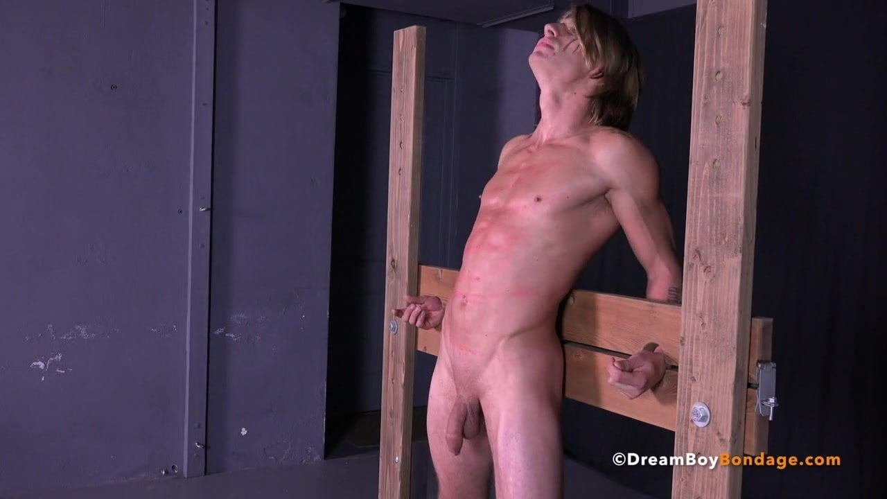 Long hair bondage skinny doggystyle