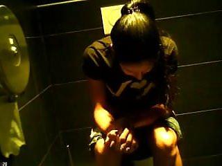spy teen bitch wc toilet