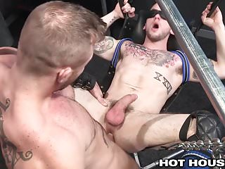 Austin Wolf Slams Blindfolded Colton on Sex Swing