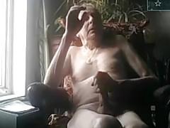old man jerking off on cam big dick