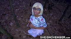 Playing With My Black Daughter In Law Titties In The Forest