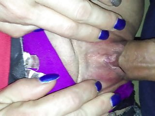 Watch my pussy drip when I have some big hard cock in me!