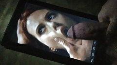 Scarlett Johansson Cum Shame - Hold the bitch in place