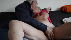 Husband masturbating wife
