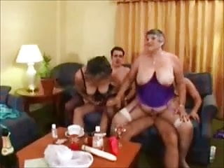 Two SexyBritish Grannies 1 Wear-Tweed
