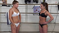 Sexy Catfight Breast Smother Headscissor Submission's Thumb