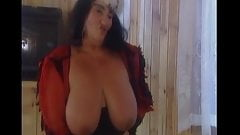 Nasty Granny Big Saggy Tits