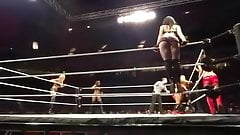 wwe paige ass bouncing up and down
