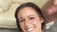 Young Hot Jenna Gets Big Facials Cum Covered