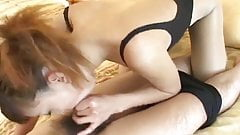 leotard pantyhose oral sex