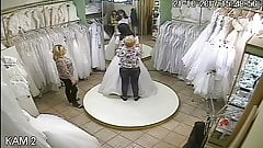 spy camera in the salon of wedding dresses 6 (sorry no sound