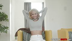 Euro bombshell gets all of her holes filled with BBC's Thumb
