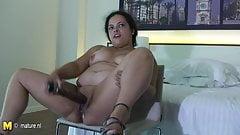 Big mature Barbara loves to get naughty