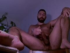 Horny Arab Lebanese Guy Shoot His Load