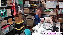 Shoplifter Hayden Hennessy Gets What She Deserves