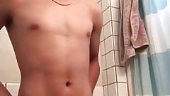 quick asian boy show on cam (10'')