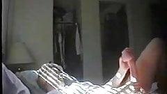 Milf masturbating in bedroom ! hidden cam