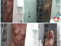 Granny taking a shower's Thumb
