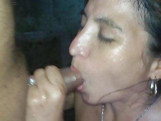 girl next door sucking my cock