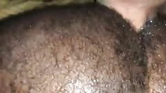 White top breeding tight hairy black ass