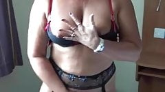 Couple hotel room sex play