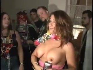 Mari gra boob painting