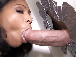 Anita Peida Sucks Big Dick At Gloryhole