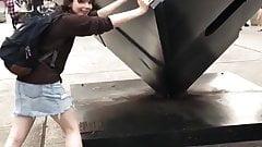 zelda legs , skirt