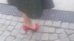 Amateur Damen  Und High Heels