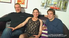 Geiler Dreier mit Hartz4 Familie