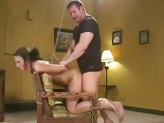 Bondage Chick gets Fucked in Every Hole