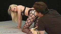 Tiny Tits Zoe Clark Face & Pussy Fucked Live By ERIC JOHN