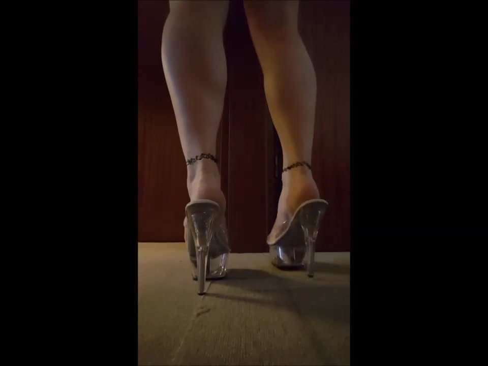 Stripper shoes purple