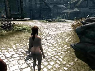 Elisif Nude And Helpless In Skyrim Pt