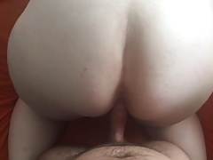 bbw wife back shot