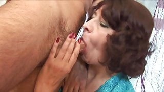 Mature And Boy 12 (Creampie)