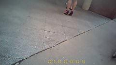 escarpins et gambettes de rue