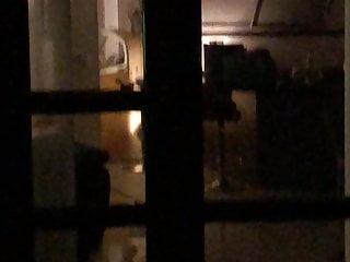 Hidden cam window Nice Ass