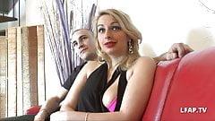 Casting anal belle blonde francaise avec ejac buccale