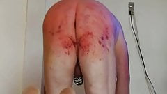 Extreme whipping My Pain slave