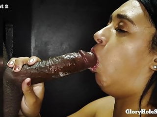 Curvy Young Nerd Explores The Inside Of A Gloryhole